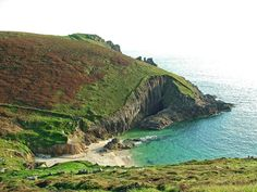 Nanjizal Bay, England 16 Incredible Secret Swimming Spots In Britain Hidden Pool, Between The Oceans, British Beaches, Fairy Pools, Rock Pools, Swimming Holes, Beach Pool, World Best Photos, Summer Travel