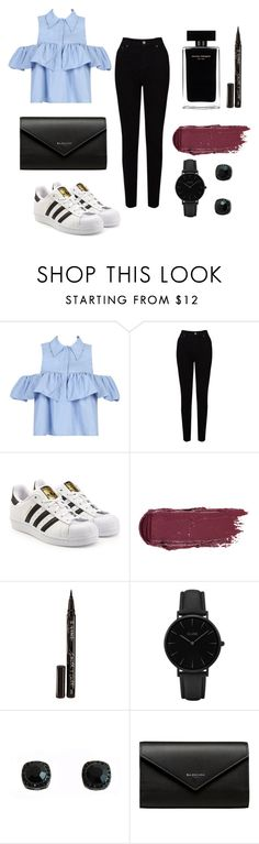 """""""Untitled #4"""" by joana-mendes-2 on Polyvore featuring WithChic, EAST, adidas Originals, Narciso Rodriguez, Smith & Cult, CLUSE and Balenciaga"""