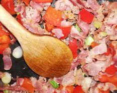 (1) Töltött óriáscsiga leveles tésztából   Anta receptje - Cookpad receptek Mozzarella, Salsa, Bacon, Mexican, Ethnic Recipes, Food, Essen, Salsa Music, Meals
