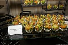 Four Seasons Chicago chefs Papaya & Avocado Salad   Photo Courtesy of KingenSmith Productions