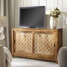 "Natural Lattice Bone 52"" TV Stand 