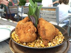 Discovering the South Styrian Wine Road in #AustrianTime - backhendl (breaded fried chicken).