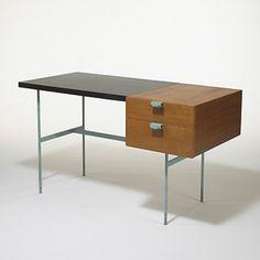 Pierre Paulin, Desk for Thonet, 1953.
