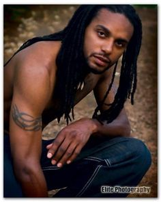 Hot Black Men Pictures ... love the dreads, and that face is angelic.