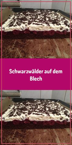 Because everyone in the Black Forest loves cherry cake because a springform pan just doesn't exist . Banana Recipes, Easy Cake Recipes, Bakery Cakes, Food Cakes, Black Forest Cherry Cake, Easy Vanilla Cake Recipe, Springform Pan, Yummy Cakes, Food And Drink