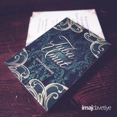 Hennakarte für Hennaabend • Kına kartı davetiyesi
