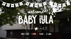 """A documentary Fresh48/Newborn Film for Baby Iyla.  Music: """"I Like You"""" from the…"""