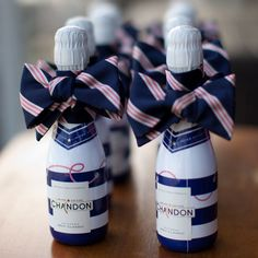 Nautical wedding favors- bow ties and booze are a whimsical way to ask your groomsmen to be a part of the big day! Nautical Wedding Favors, Wedding Party Favors, Beach Wedding Inspiration, Wedding Ideas, Just Peachy, Nautical Baby, Baby Boy Shower, Bridal Shower, Parisian Style