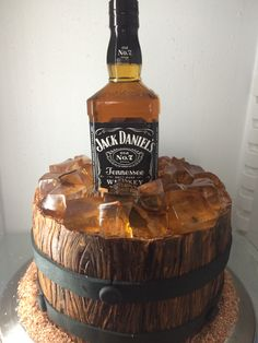 Jack Daniels Theme Cake Cakes Pastries by me Pinterest
