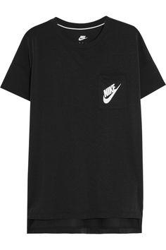 NIKE Signal satin-jersey T-shirt