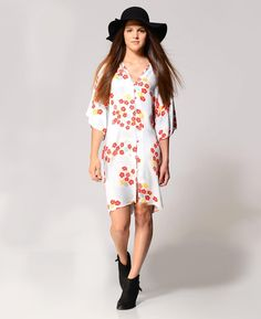 Some Days Lovin Floral Kimono Dress | South Moon Under