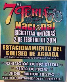 Feria Nacional Bicicletas Antiguas 2014 @ Aguada #sondeaquipr #ferianacionalbicicletasantiguas #coliseoaguada #aguada