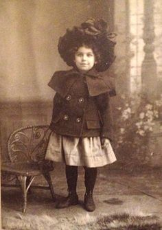Vintage Photograph of Edwardian Girl Child by KittyBlackwellsHouse