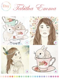 Tabitha Emma illustrations Animal Illustrations, Children's Picture Books, Bunnies, Feathers, Sketch, Teddy Bear, Birds, Graphics, Draw