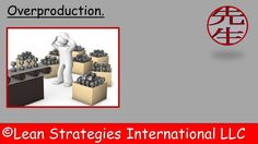 Learn what Overproduction is and enroll in a FREE course on waste!