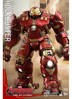 Don't miss out on adding the incredible Hulk to your Avengers: Age of Ultron collection! - Authentic and detailed likeness of Hulk in Avengers: Age of Ultron. Iron Man Hulkbuster, Hot Toys Hulkbuster, Age Of Ultron, Iron Men, Iron Man Suit, Iron Man Armor, Marvel Comics, Marvel Heroes, Captain Marvel
