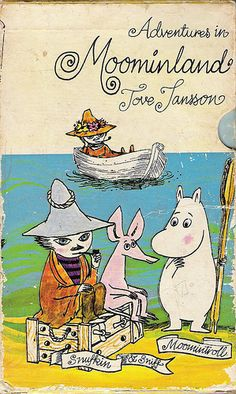 by cardboard antlers (moomins, tove jansson) I love Moomin Tove Jansson, Moomin Books, Vintage Children's Books, Children's Literature, Children's Book Illustration, Oeuvre D'art, Book Design, Childhood Memories, Childrens Books