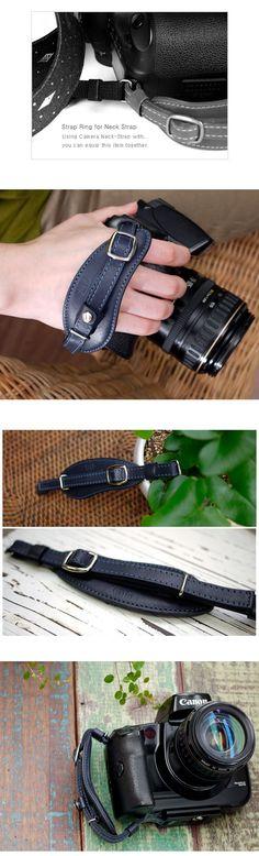 CIESTA leather camera hand strap $32