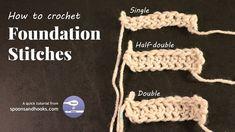 Quick Tutorial: Foundation Stitches