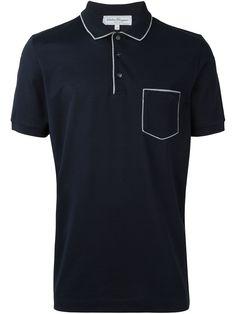 4569cdc4b2 Salvatore Ferragamo Camisa polo com bolso Camisetas Masculinas Polo