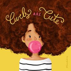 Curls are Cute