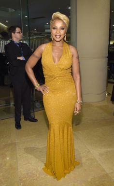 Mary J. Blige Photos - Pre-GRAMMY Gala And Salute To Industry Icons Honoring Martin Bandier - Red Carpet - Zimbio