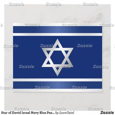 Star of David Israel Navy Blue Pearl Silver White Announcement Postcard Blue Pearl, Star Of David, Personalized Stationery, Silver Pearls, Postcard Size, Israel, Announcement, Navy Blue, Stars