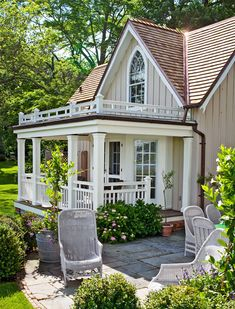 charming white cottage