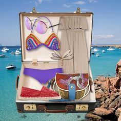 packing for #formentera