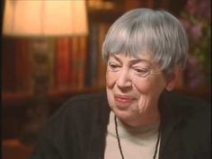 "Bill Moyers interview with Ursula K. LeGuin about ""Lathe of Heaven"" - YouTube"