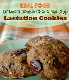 These delicious lactation cookies are made with real food ingredients to support your milk supply and lead to stress-free breastfeeding.