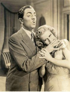 Net Image: Jean Harlow and William Powell: Photo ID: . Picture of Jean Harlow and William Powell - Latest Jean Harlow and William Powell Photo. Old Hollywood Movies, Golden Age Of Hollywood, Hollywood Stars, Classic Hollywood, Vintage Hollywood, Hollywood Icons, Vintage Vogue, Hollywood Glamour, Hollywood Actresses
