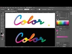 Create Colorful Lettering in Adobe Illustrator – Creative Alys