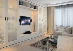 Condo Living, Living Room Tv, Living Room Modern, Living Room Designs, Wardrobe Design Bedroom, Bedroom Decor, Dressing Design, Room Interior, Interior Design