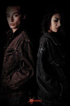 Produzione: www.officinacreativa.us   Web Magazine: www.ragazze.it    #denim #jacket #vintage #jeans #couple