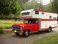 1972 FORD F350 DUALLY PICKUP MOTORHOME SPECIAL