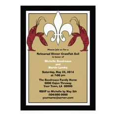 Discount DealsBlack Gold Crawfish Boil Event Invitationsonline after you search a lot for where to buy