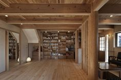 Modern living room by 福田建築工房