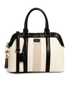 Bild 1 von Paul's Boutique – Maisy – Wildledertasche mit Kontrasten