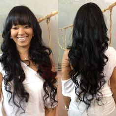 """Fashion Wave Brazilian Virgin Hair Silk Base Wigs With Baby Hair 4""""x4"""" Silk Top Glueless Full lace wigs With Bangs 130 Density"""