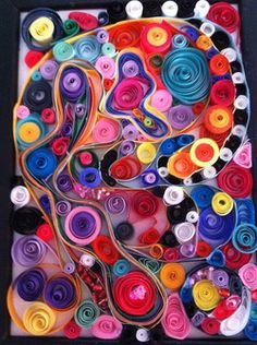 Beading and quilling  www.lauraweinrich.com