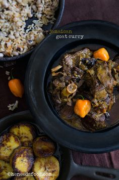 Jamaican goat curry (sub different meat if you like) LOVE CURRY!