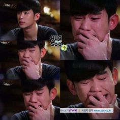 Man From the Stars -Whenever this actor cries in his dramas it breaks my heart