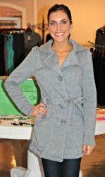 Cotton Grey Trench