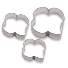 Trefoil Shaped Cookie Cutters
