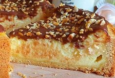 Cheesecake minceur au citron - Recette Plat - Recette Cuisine Facile Cookie Au Nutella, Vinaigrette, Cookies Et Biscuits, Donuts, Banana Bread, French Toast, Deserts, Cheesecake, Breakfast