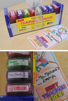 The rave reviews say it all! Our Self-Inking Teacher Stamps are the gift teachers want for Teacher Appreciation Week!