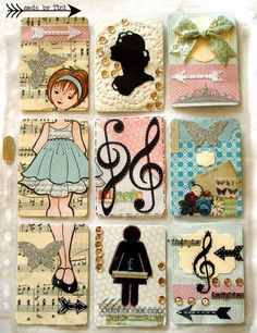 Arts by Tini: My Pocket Letters #Prima Dolls