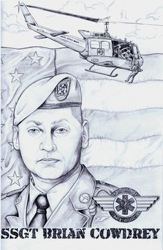 In Memory of SSGT Brian Cowdrey K.I.A. Oct. 13 in Kunar province, Afghanistan
