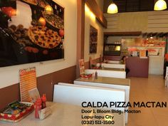Indulge in rich, savory, mouthwatering servings of #CaldaPizza goodness at one of our Cebu branches:  CALDA PIZZA MACTAN Door 1, Bloom Bldg., Mactan Lapu-lapu City (032) 511-1580 #pizzadelivery #pizza